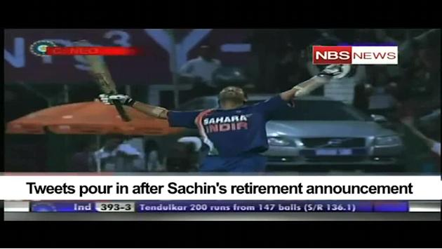 Tweets pour in after Sachin's retirement announcement