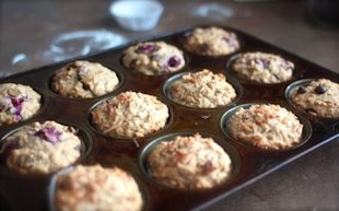 One-Bowl Oatmeal Muffins