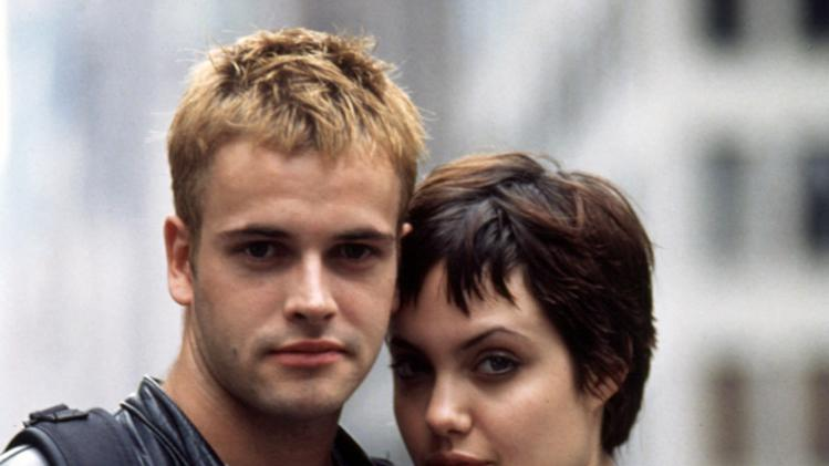 Jonny Lee Miller and Angelina Jolie