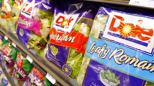 Dole Recalls Bagged Salad; Listeria Possibly Found