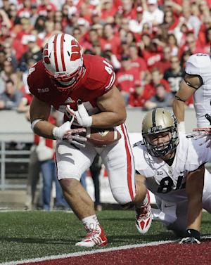 Miller or Guiton? Doesn't matter to No. 23 Badgers