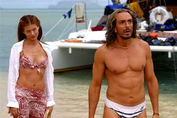 Debra Messing and Hank Azaria in Universal's Along Came Polly