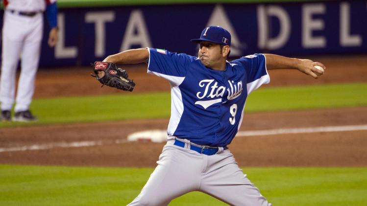 Baseball: World Baseball Classic-Italy at Puerto Rico