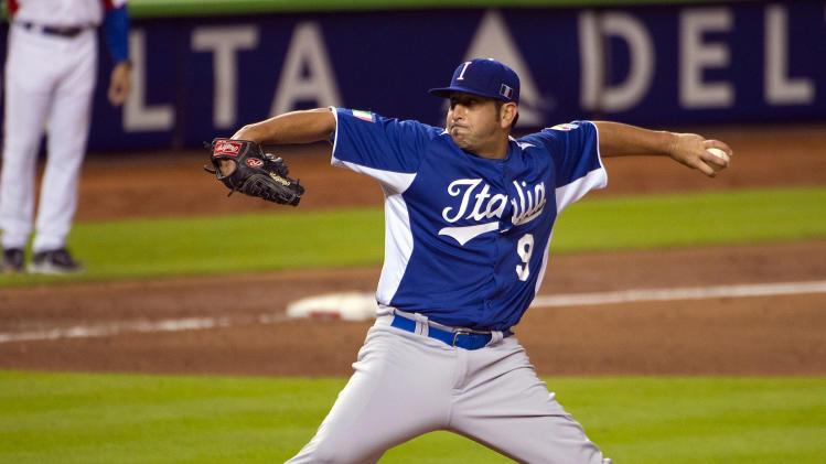 Baseball: World Baseball Classic-Italy at Puerto Rico
