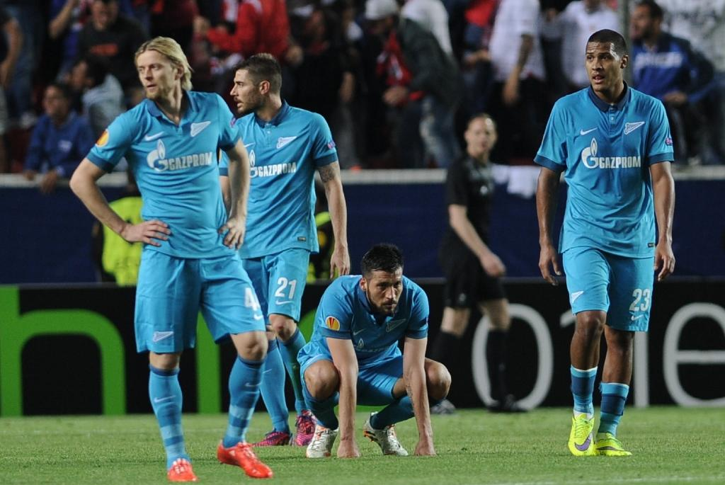 After Sevilla loss, Zenit refocus on domestic duties