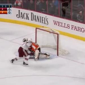 Steve Mason Save on Antoine Vermette (00:00/SO)