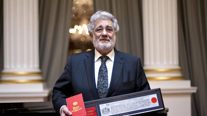 Placido Domingo Is Awarded The Freedom Of The City Of London