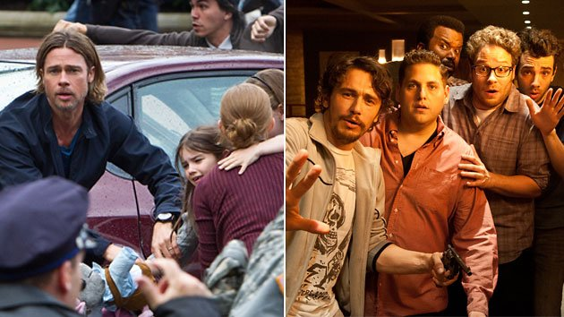 &amp;#39;World War Z,&amp;#39; &amp;#39;This Is the End&amp;#39; 
