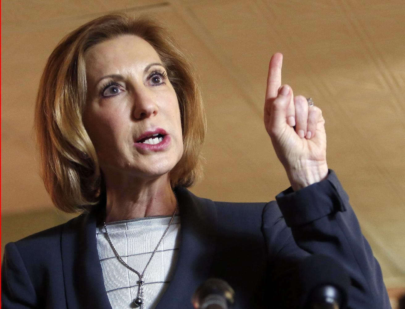 Where they stand: Fiorina on key topics of 2016 campaign