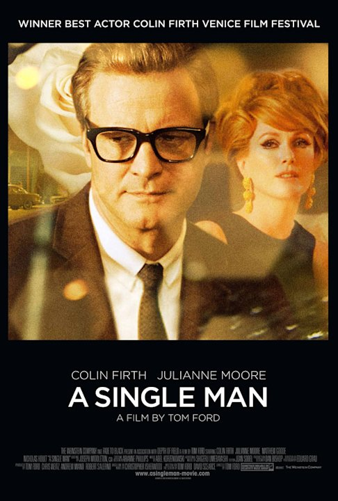 A Single Man Poster Production Stills Weinstein 2009