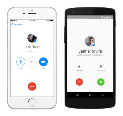 Facebook Messenger adds free video calling to take on Skype