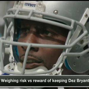Risk vs. reward of keeping Dallas Cowboys wide receiver Dez Bryant