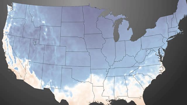 Frigid Arctic Air Invades United States