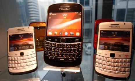 Research in Motion's BlackBerry is struggling to keep up with the iPhone and Android... but it still might be Hewlett-Packard's key to entering the smartphone market.