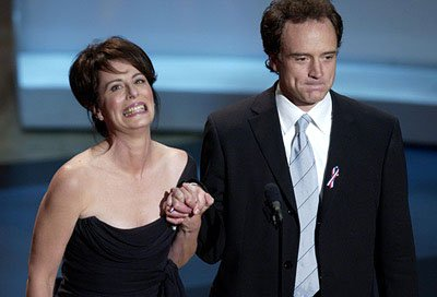 Jane Kaczmarek and Bradley Whitford