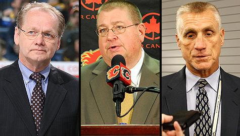 NHL GMs: Darcy Regier, Jay Feaster and Paul Holmgren