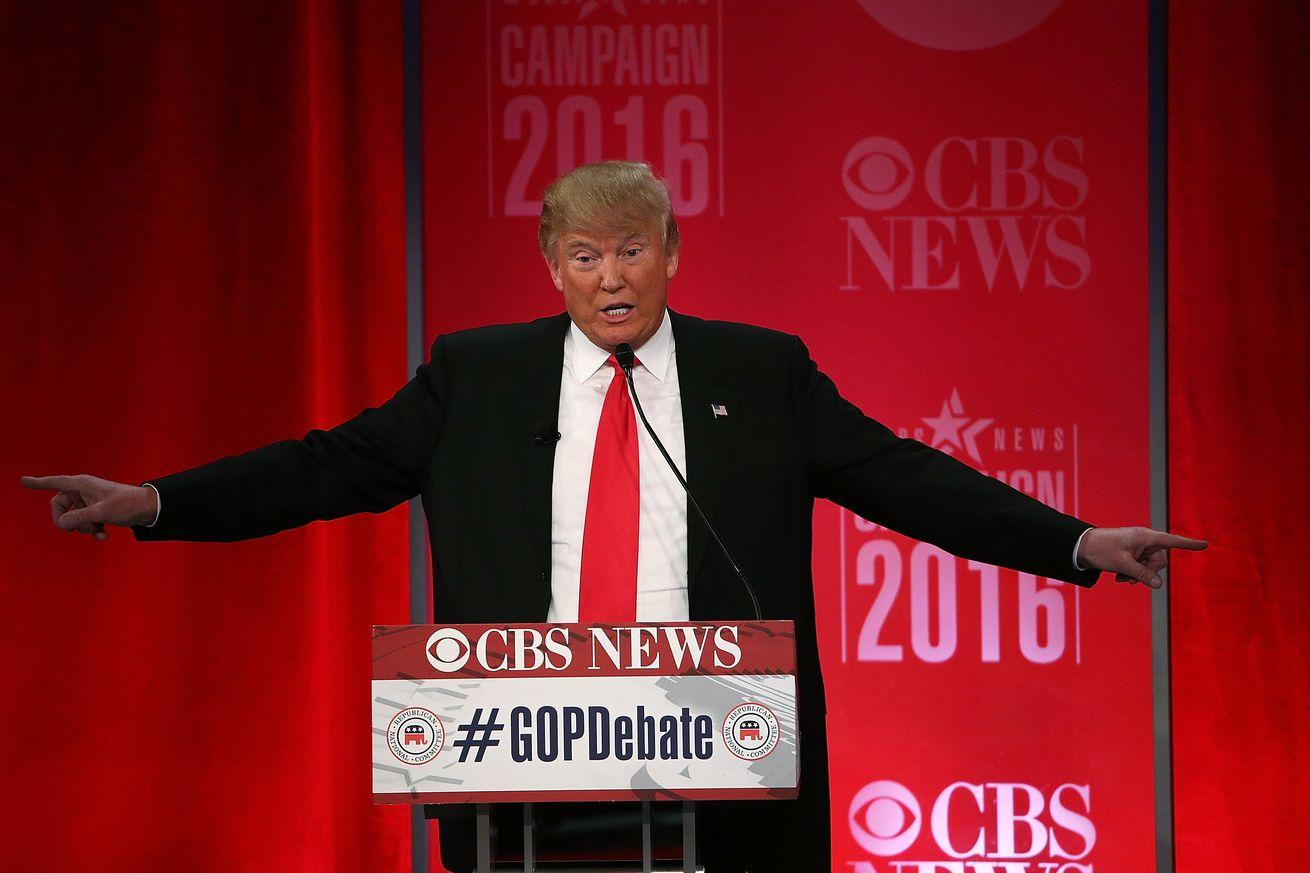 The Republican establishment packed the debate audience with Donald Trump haters