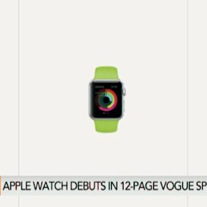 Apple Watch Debuts in 12-Page Vogue Spread
