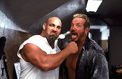 Bill Goldberg and Diamond Dallas Page in Warner Brothers' Ready To Rumble
