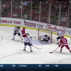 Michal Neuvirth Save on Pavel Datsyuk (07:20/2nd)