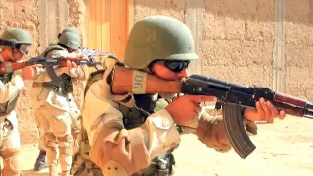 Handpicked Afghan police officers receive special training