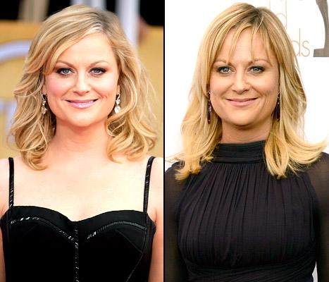 Amy Poehler Gets Bangs, Debuts Them at Writers Guild Awards