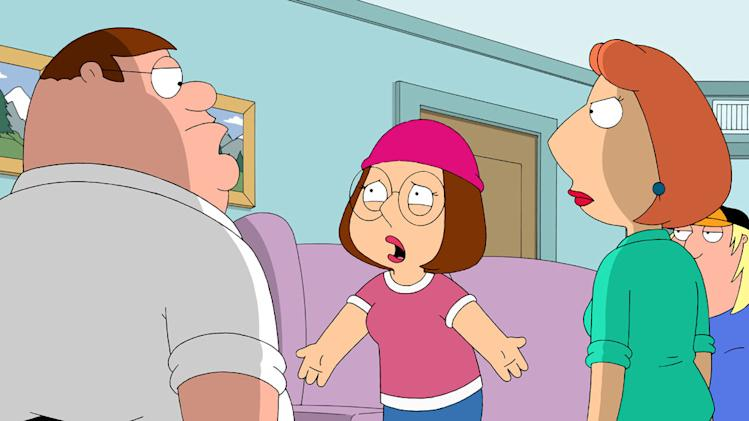 "The family takes one too many jabs at Meg in the all-new ""Seahorse Seashell Party"" episode of ""Family Guy."""