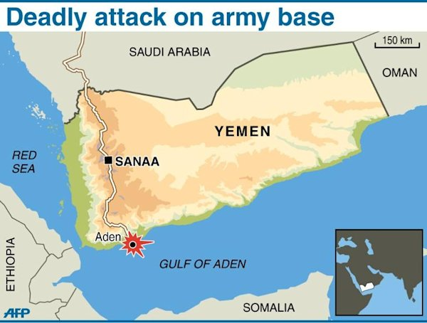 'Qaeda attack' on army HQ in south Yemen kills 11