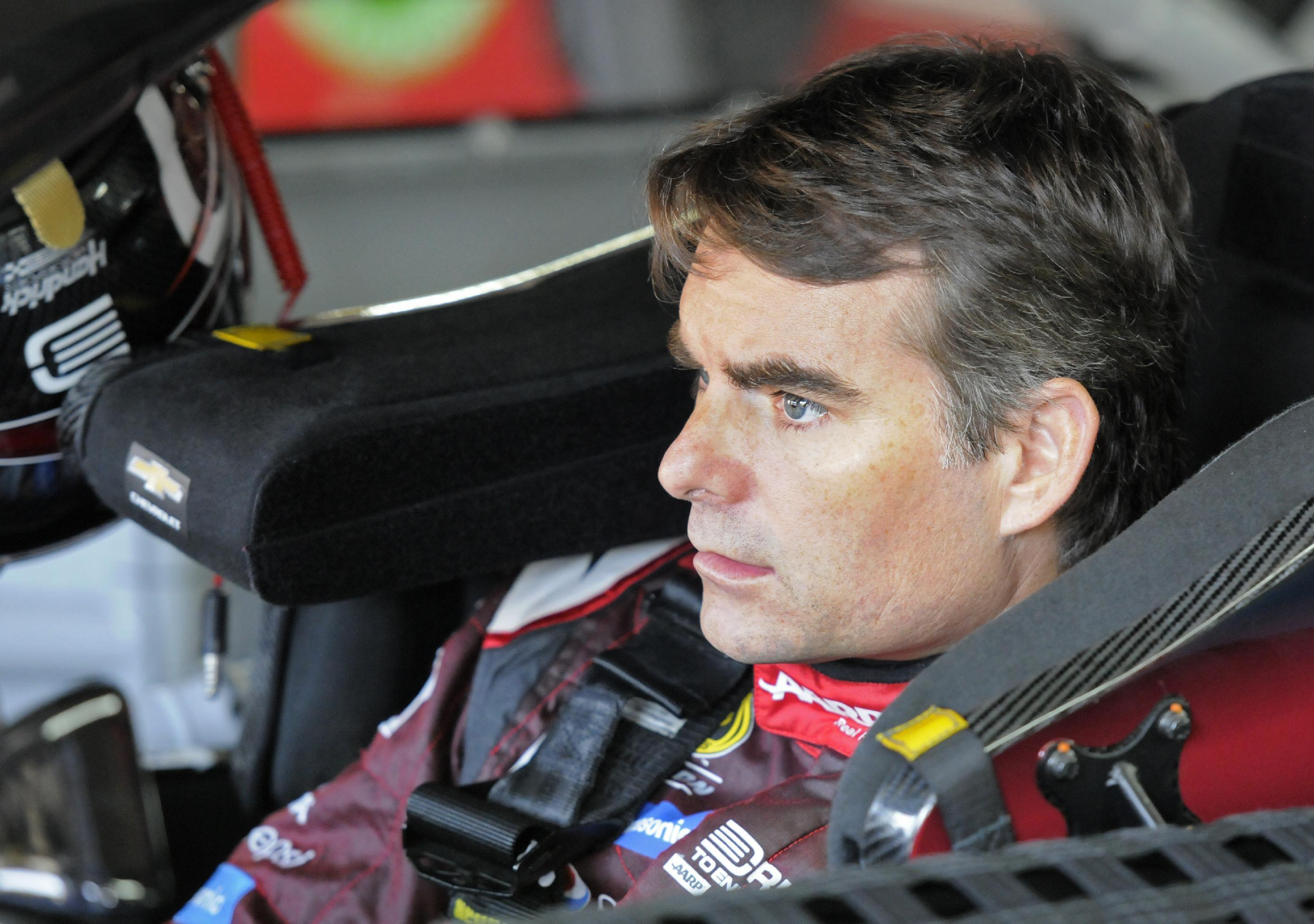 Pace driver Jeff Gordon says he will never race in Indy 500