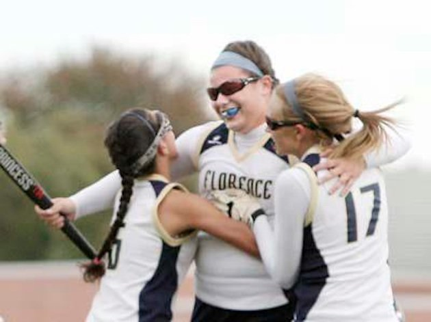 Florence field hockey star Lexi Smith celebrates her record setting goal — Facebook