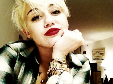 "Miley Cyrus on New Pixie Cut: ""Self Love"" Is Important"