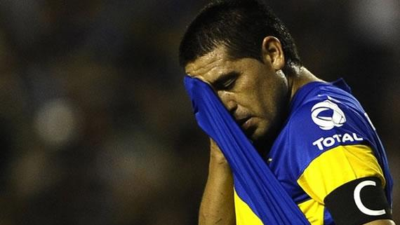 'Let's all sing so Roman comes back' - How Riquelme's exit is devastating Boca fans