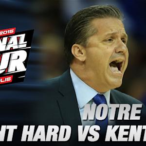 Kentucky's John Calipari Impressed By Notre Dame | ACC Road to Indy