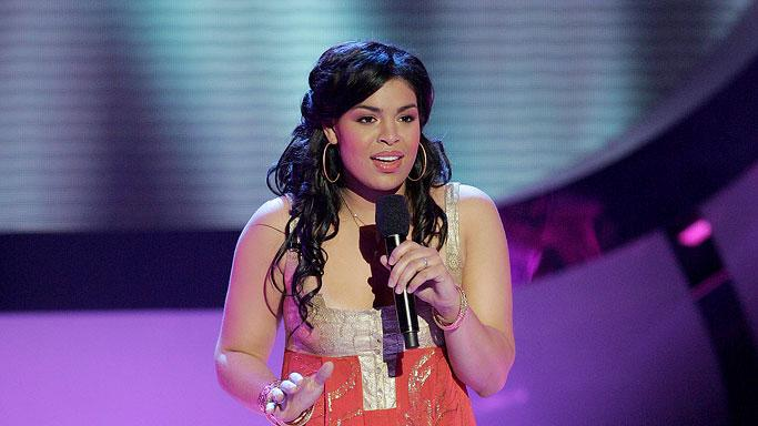 Jordin Sparks performs as one of the top 7 contestants on the 6th season of American Idol.