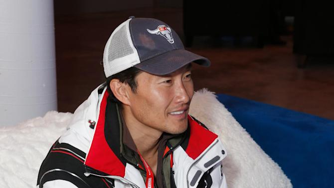 IMAGE DISTRIBUTED FOR NINTENDO - Actor Daniel Dae Kim warms up and checks out Wii U at the Nintendo Lounge during a break from the Sundance Film Festival on Monday, Jan. 21, 2013 in Park City, Utah. (Photo by Todd Williamson/Invision for Nintendo/AP Images)