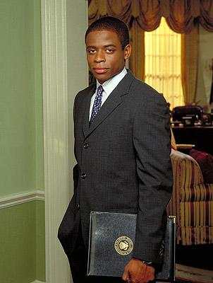 "Dule Hill as aide Charlie Young on NBC's ""The West Wing"" West Wing"