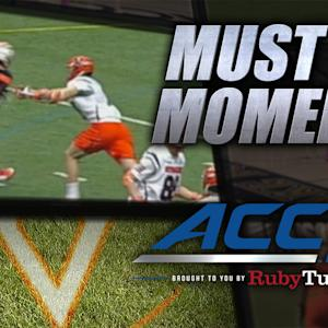 Virginia's Van Arsdale Scores Behind-The-Back Goal | ACC Must See Moment