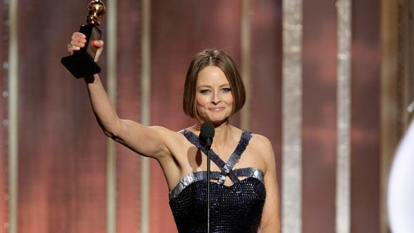 Jodie Foster 'comes out' during Golden Globes speech