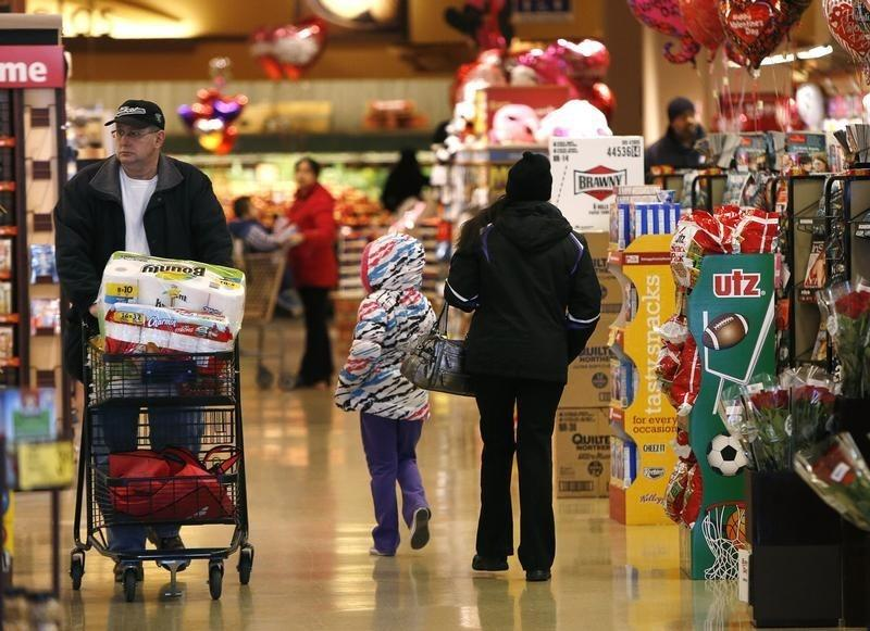 Weak U.S. consumer spending points to slower first-quarter growth