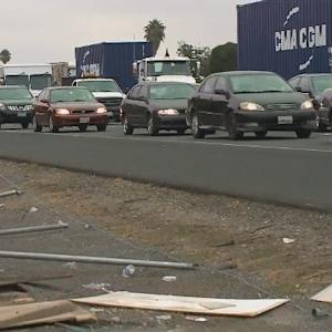 Big Rig Crash Injuring 9 Shut Down I-880 In San Leandro For Hours