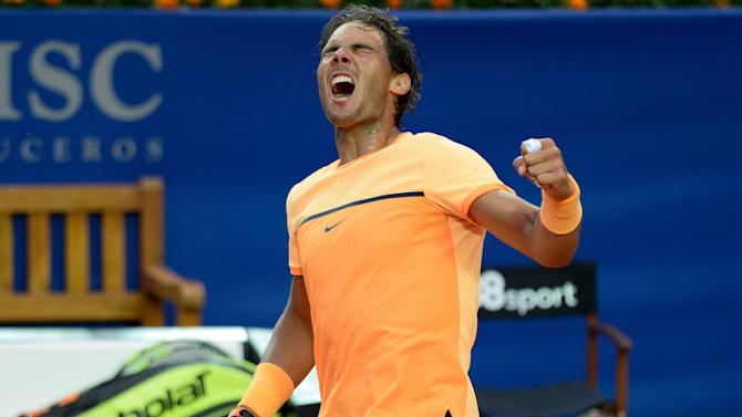 In-form Nadal seeking third straight title as Murray defends Madrid crown