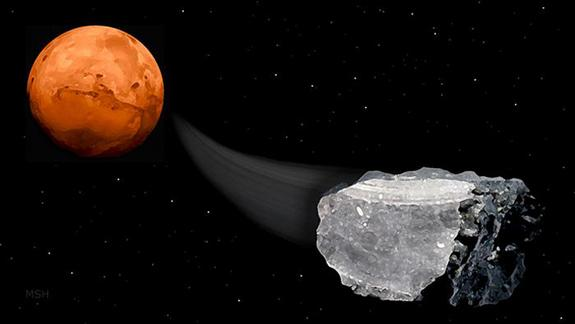 Methane in Mars Meteorites Suggests Possibility of Life
