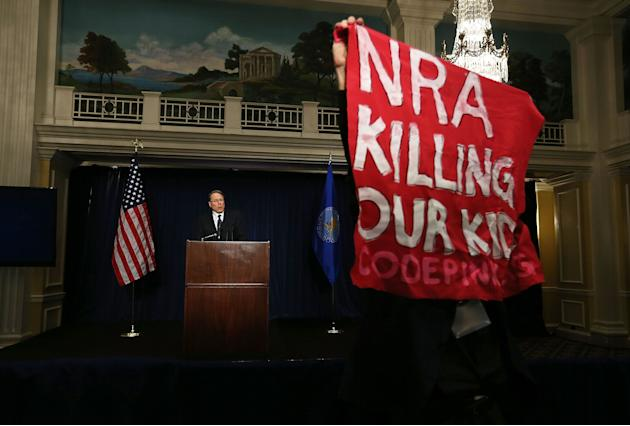National Rifle Association Holds News Conference In Wake Of Newtown School Shooting