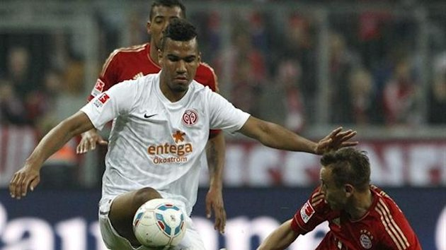 Eric Choupo-Moting, Mainz (Reuters)