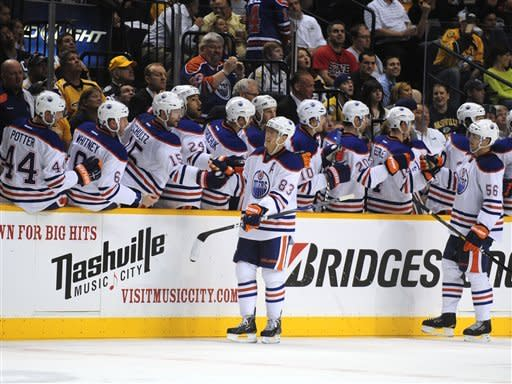Hemsky scores 3, lifts Oilers over Predators 6-3