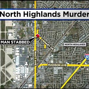 Man Stabbed To Death In North Highlands