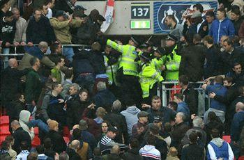 Two men charged after Millwall disorder at Wembley