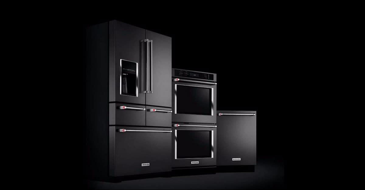 KitchenAid® Black Stainless Appliances