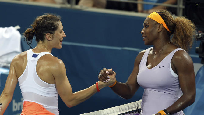 Serena Williams opens season with win vs Petkovic