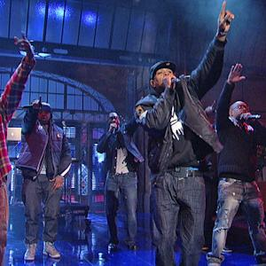 "Wu-Tang Clan: ""Ruckus in B Minor"" - David Letterman"